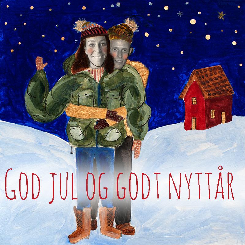 mammas julekort med ingar med tekst WEB