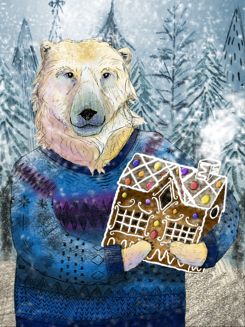 web-polar-bear-with-ginger-bread-house