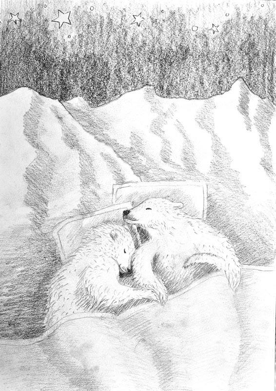 sovende-isbjorner-sketch-2